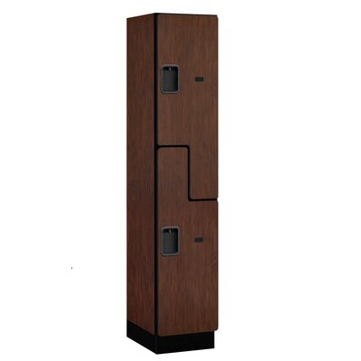 Salsbury Industries Extra Wide Designer Double Tier 1 Wide Locker