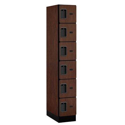 Salsbury Industries Six Tier Box 1 Wide Designer Locker