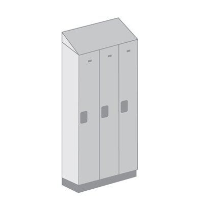 Salsbury Industries Single Tier 3 Wide Designer Locker