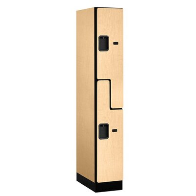 "Salsbury Industries Double Tier ""S"" Style 1 Wide Designer Locker"