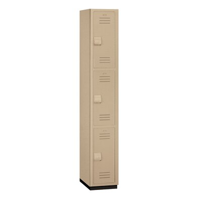 Salsbury Industries Triple Tier 1 Wide Heavy Duty Locker