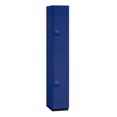 Salsbury Industries Double Tier 1 Wide Heavy Duty Locker