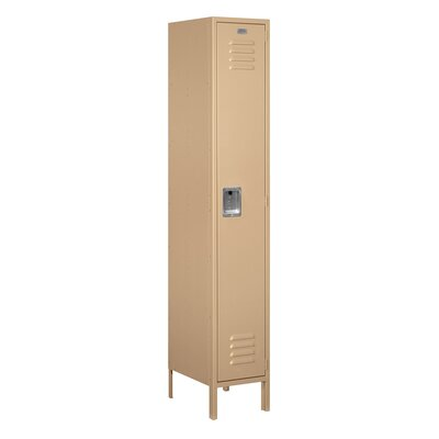 Salsbury Industries Unassembled Single Tier 1 Wide Extra Wide Standard Locker
