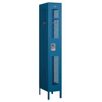Salsbury Industries Unassembled Single Tier 1 Wide Vented Locker
