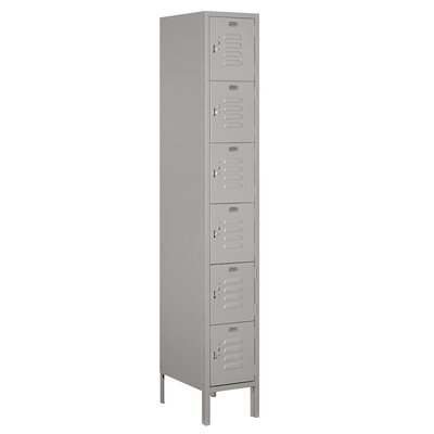 Salsbury Industries Unassembled Six Tier Box 1 Wide Standard Locker