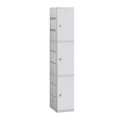 Salsbury Industries Assembled Triple Tier 1 Wide Locker
