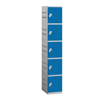 Salsbury Industries Assembled Five Tier 1 Wide Locker