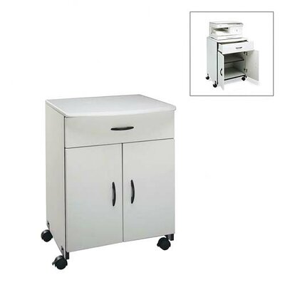 Buddy Products Printer/Copier Stand with Double Doors