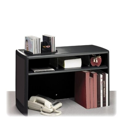 "Buddy Products Desktop Organizer, 30""x12-1/2""x18-1/2"", Black"