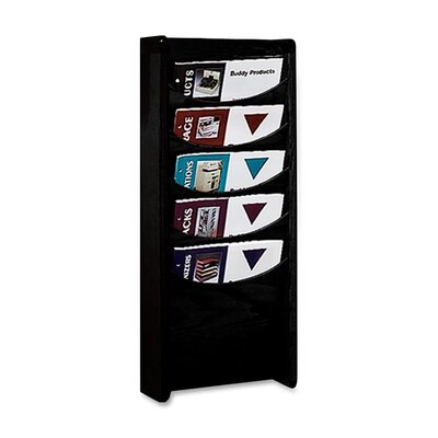 Buddy Products 5 Pocket Rack