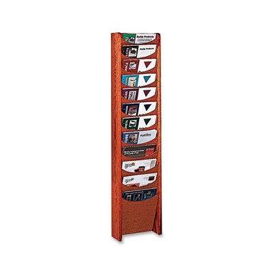 Buddy Products 12 Pocket Literature Rack