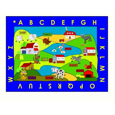 Kids World Rugs Farm Village Kids Rug