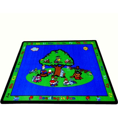 Kids World Rugs Reading is Fun Kids Rug