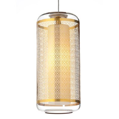 Tech Lighting Ecran Monopoint Mini Pendant