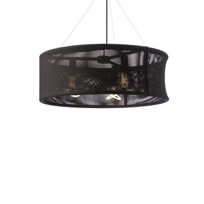 Tech Lighting Moire 3 Light Drum Pendant