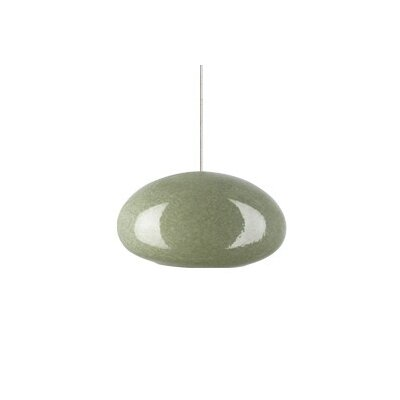 "Tech Lighting River Rock 3.5"" Oblong Oval Monorail Pendant"