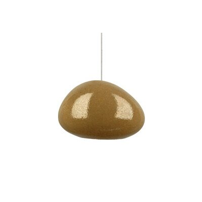 Tech Lighting River Rock Wedge 1 Light Monopoint Pendant