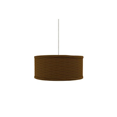 Mulberry 2 Light Monopoint Mini Drum Pendant