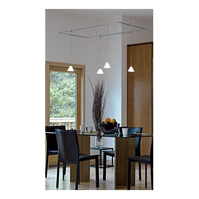 Tech Lighting Pyramid 1 Light Kable Lite Pendant