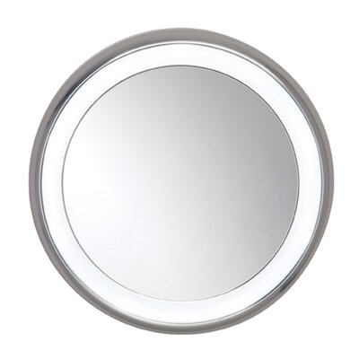Tigris Round Surface Mounted Illuminated Mirror