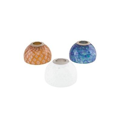 """Tech Lighting 2.7"""" Firebird Track Shield Glass Bell Shade"""