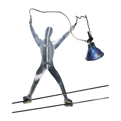 Metal Man Functional Art Track Light
