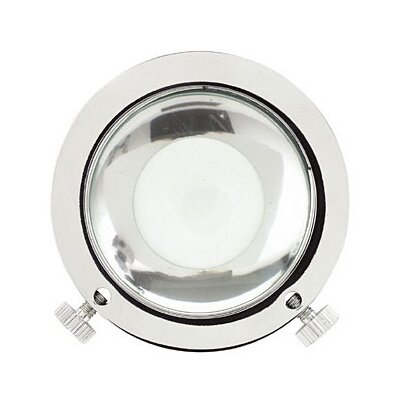 Tech Lighting Gobo Magnifying Lens in Chrome and Satin Nickel