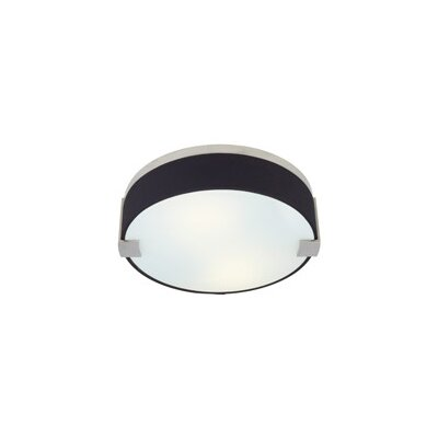 Tech Lighting Baxter 2 Light Round Flush Mount