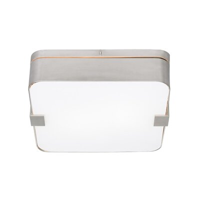 Tech Lighting Province 1 Light Flush Mount