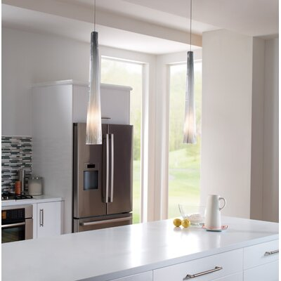 Tech Lighting Large Zenith 1 Light Monorail Pendant