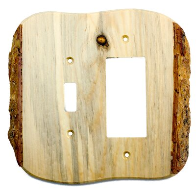 Rustic Toggle / Decora Switch Plate