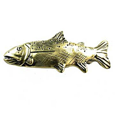 "Sierra Lifestyles Fishing Sportsman 1.75"" Novelty Knob"