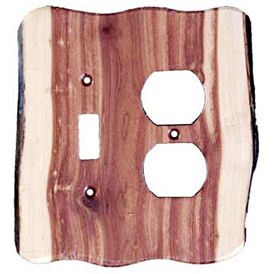 Rustic Toggle/Duplex Unfinished Switch Plate