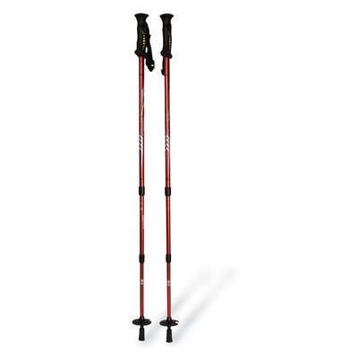 Mountainsmith All Terain Pyrite 7075 Trekking Poles in Red