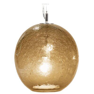 Tempo Luxury Home Collection Boa Solaris 1 Light Globe Pendant