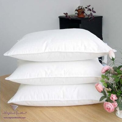 Highland Feather Damask Goose Down Pillows - Level I 320T.C.