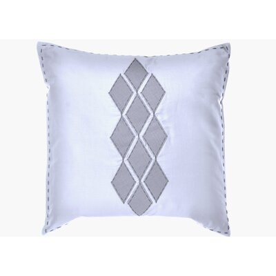 "Vera Wang Shibori Diamond 20"" x 20"" Applique Diamond Decorative Down Pillow"
