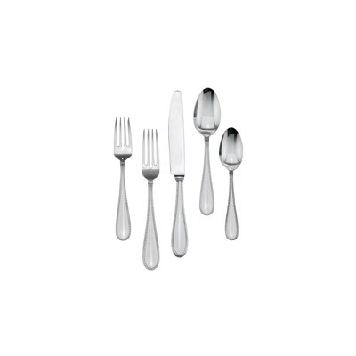 Vera Lace Stainless 5 Piece Place Setting