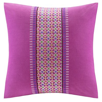 echo design Vineyard Paisley Cotton Faux Linen Pillow