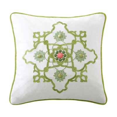 echo design Gramercy Paisley Cotton Square Pillow
