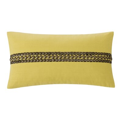echo design Abstract Palm Cotton Oblong Pillow