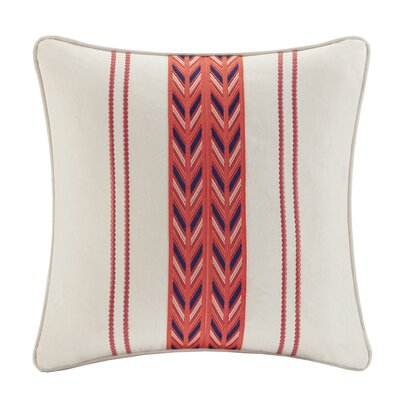 echo design Cozumel Cotton Faux Linen Decorative Pillow