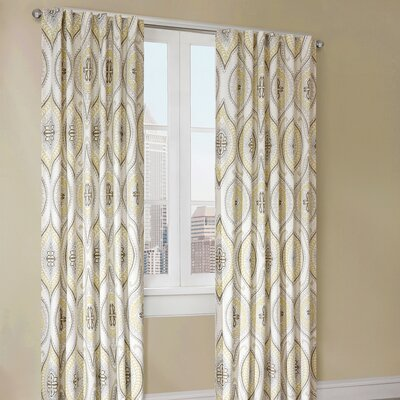 echo design Lanterna Cotton Curtain Single Panel
