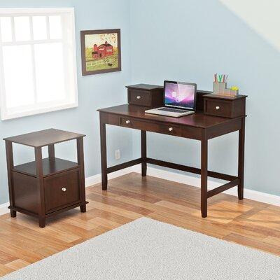 Z-Line Designs Barnett Desk and Hutch Office Suite