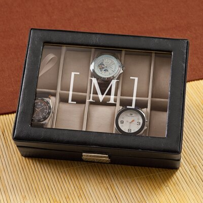 Personalized Gift Men's Watch Box