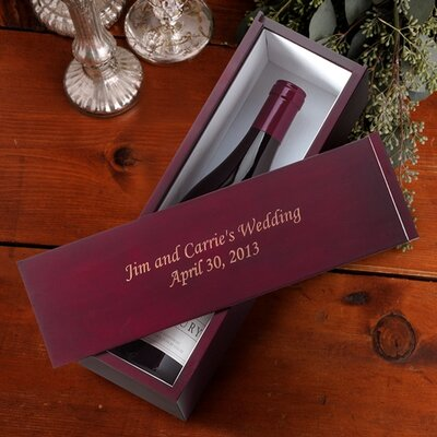 Personalized Gift Wine Box