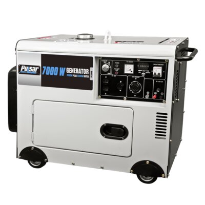 Pulsar Products Diesel Peak 7,000 Watt Generator