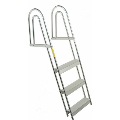 Garelick MFG. Company 4-Step Dock Pontoon Ladder