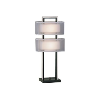 "Nova Amarillo 28"" H Table Lamp with Rectangle Shade"