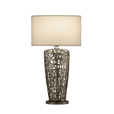 "Nova Bird's Nest Heart 30"" H Table Lamp with Empire Shade"
